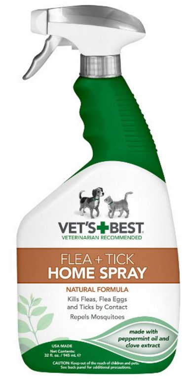 vet's best flea home spray